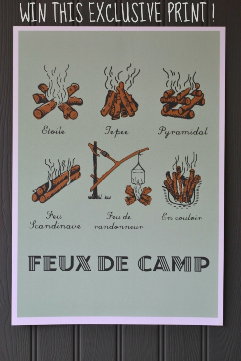 Win this exclusive Campfire screen print at Decorator's Notebook