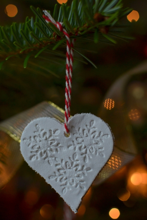 DAS clay Christmas tree decoration DIY LR