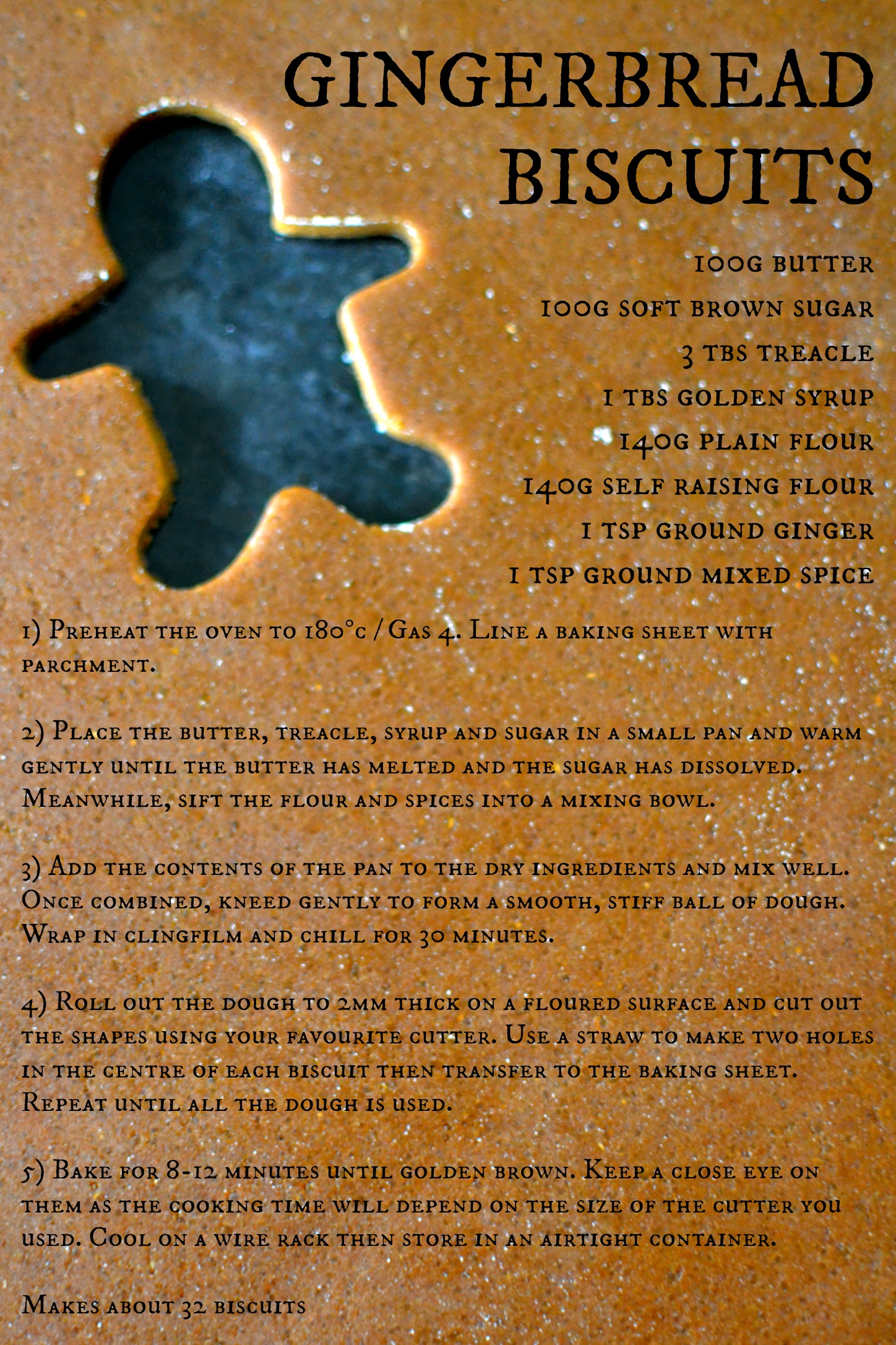 Gingerbread recipe Decorator's Notebook blog