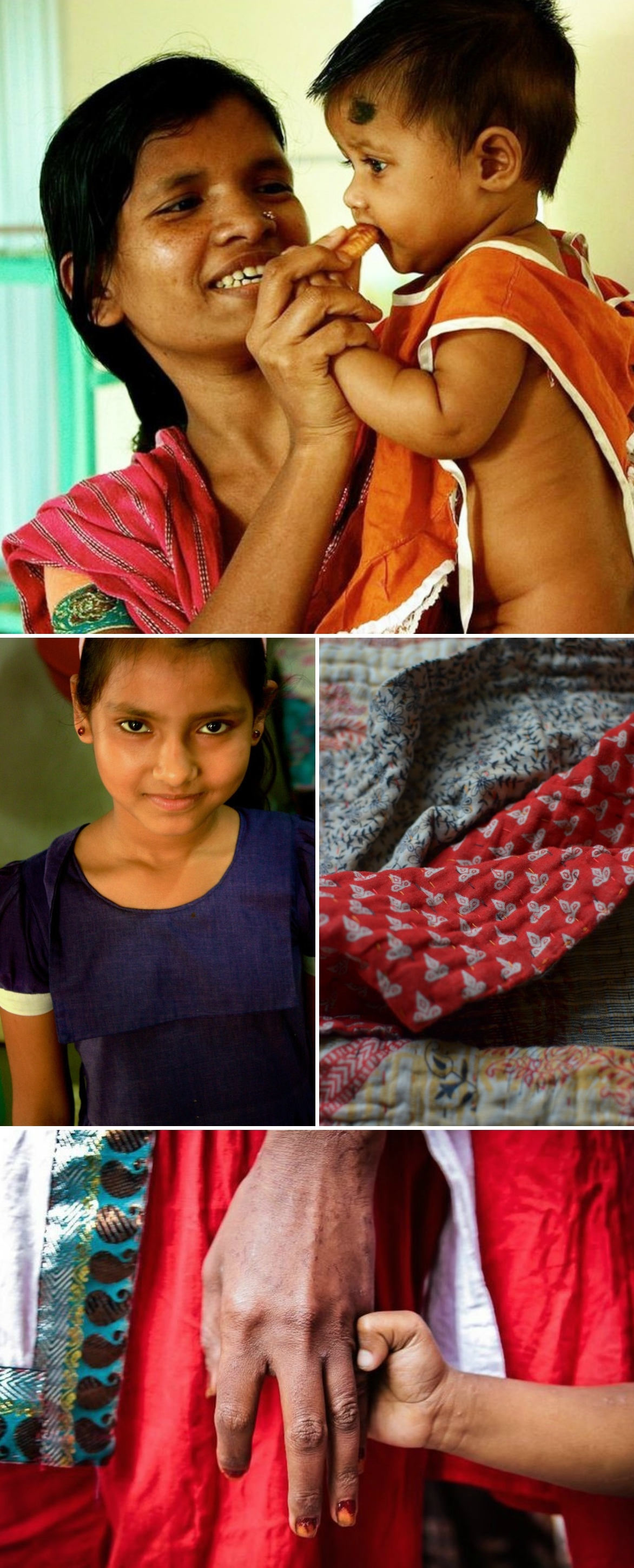 handmade kantha blankets from Decorator's Notebook by Basha uk