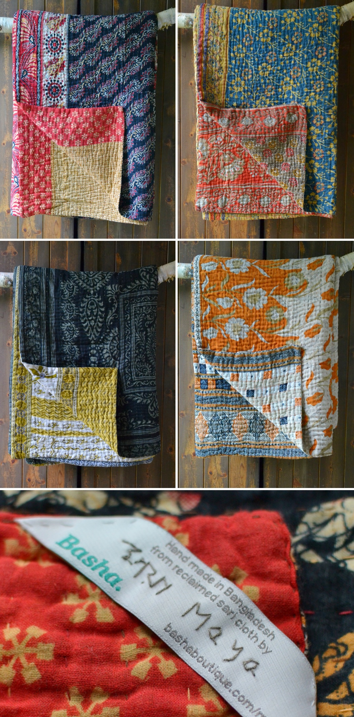 Kantha blankets uk Decorator's Notebook