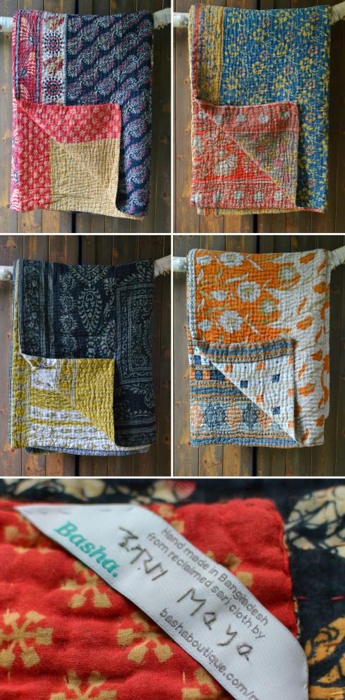 Kantha blankets uk Decorator's Notebook