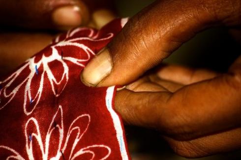 kantha stitching blanket Basha Decorator's Notebook