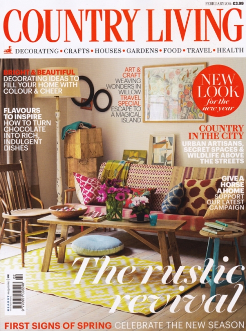 Country Living Feb 14 Cover