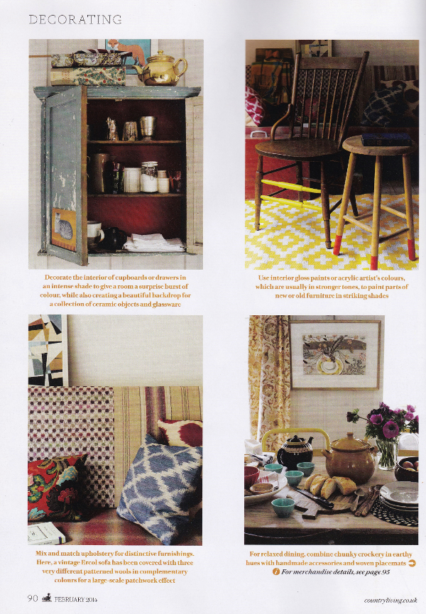 Decorator's Notebook in Country Living 2