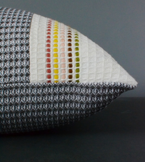Burren Waffle Cushion exclusive to Decorator's Notebook