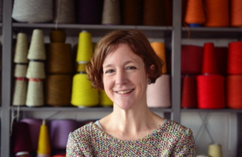 Decorator's Notebook meets Eleanor Pritchard British weave designer