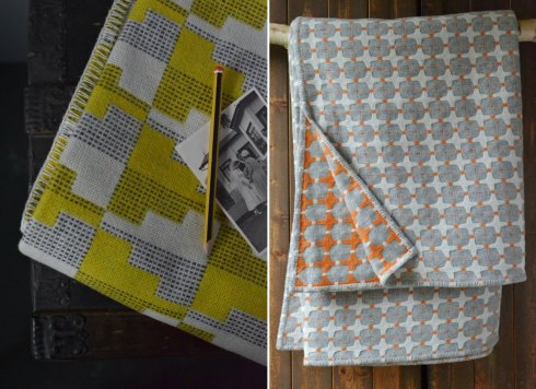Eleanor Pritchard blankets at Decorator's Notebook UK shop