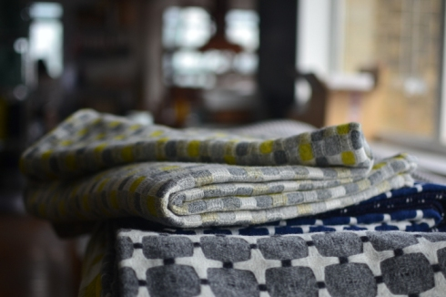 Eleanor Pritchard blankets by Decorator's Notebook