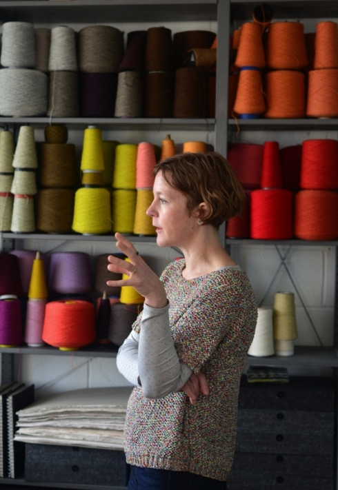 Interview with weave designer Eleanor Pritchard by Decorator's Notebook